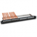 Patchpanel 24-Port, 1HE