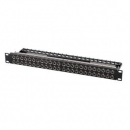 24-Port Patch-Panel Cat.6A 19""