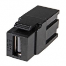 USB3.0 Snap-In Adapter schwarz