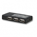 USB2.0 Hub 4-Port, Mini,